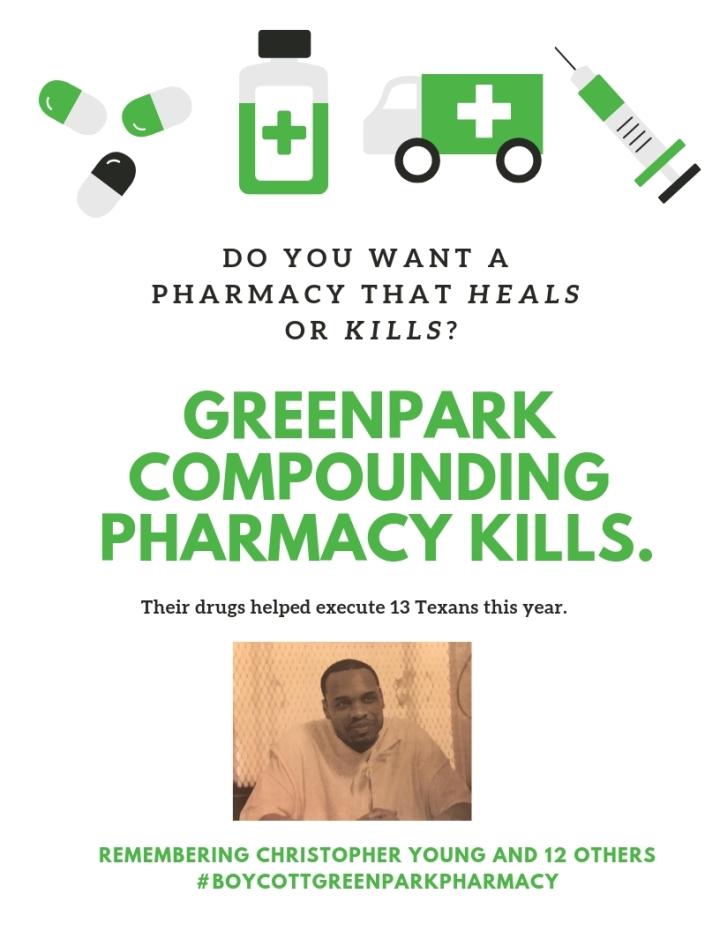 Green park Compounding pharmacy kills